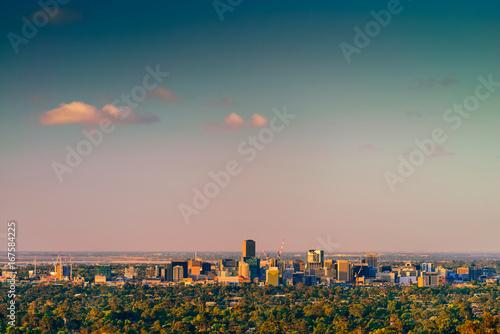Adelaide city skyline Canvas Print