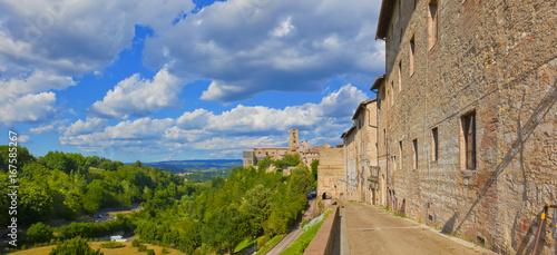 Fotografie, Obraz  Toskana-Panorama in Colle di Val d Elsa