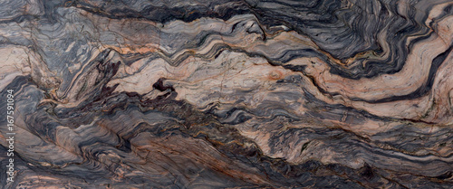 Photo sur Aluminium Cailloux Brown stone or rock background and texture.