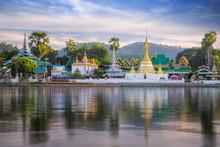 Chong Kham Temple In Mae Hong Son