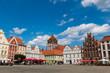 Leinwanddruck Bild - Marienkirche
