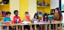 Asian Teacher Teach In Interna...