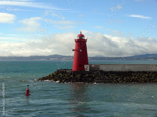 Zdjęcie XXL Latarnia morska w porcie w Dublinie