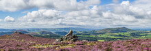 View From The Stiperstones To ...