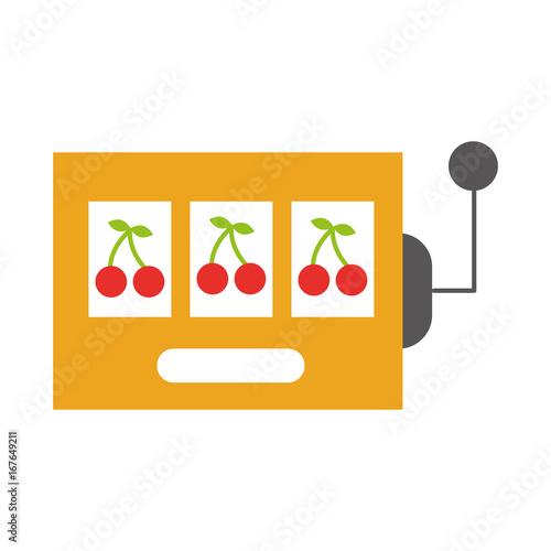 slot machine isolated icon vector illustration design плакат