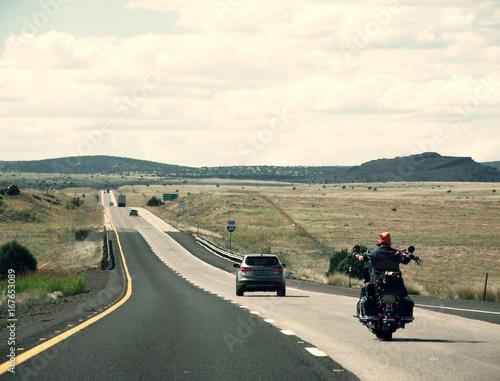 In de dag Route 66 Route 66/I-40 Arizona