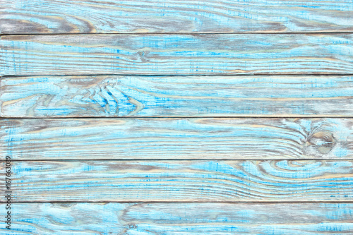 Wooden Table Teal Paint Shabby Wood Surface Old Texture For Antique Background