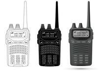 Radio Transceiver With Antenna...