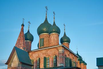 Fototapeta na wymiar Church of St. John Chrysostom in Yaroslavl.