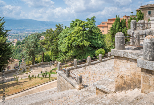 Fotografie, Obraz  Scenic sight in Anagni, province of Frosinone, Lazio, central Italy