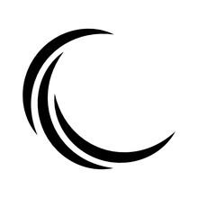 Black Crescent Logo