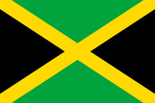 Flag Jamaica Flat Icon. State ...
