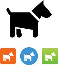 Scottie Dog Icon - Illustration