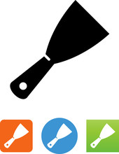 Scraper Icon - Illustration