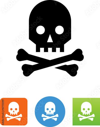 Photo  Skull Icon - Illustration