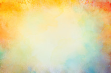 Watercolor Paint Background De...