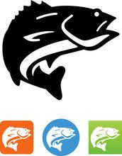 Walleye Icon - Illustration