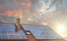 Photovoltaic Or Solar Panels O...