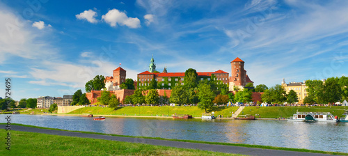 Photo sur Toile Cracovie Wawel castle, Poland