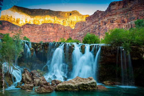 Havasupai Waterfalls in Arizona