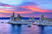Tufa Formations In Mono Lake, ...