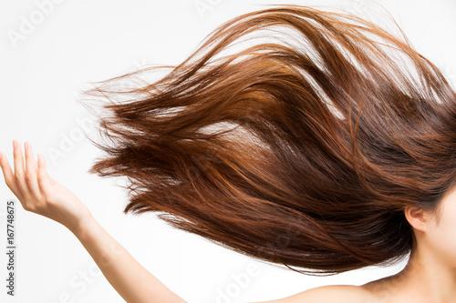 Obraz 躍動感ある髪 - fototapety do salonu