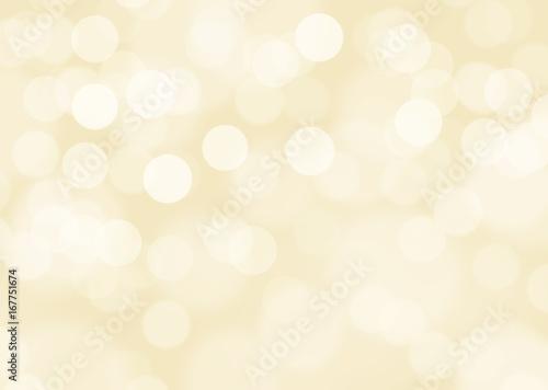 Gold defocused lights background Fototapet