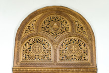 Carved Wooden Decorations On W...
