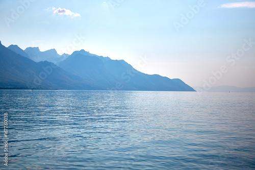 Geneva lake, Switzerland Canvas Print