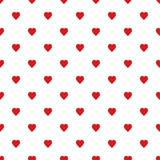 Hearts pattern  Vector illustration seamless - 167760818
