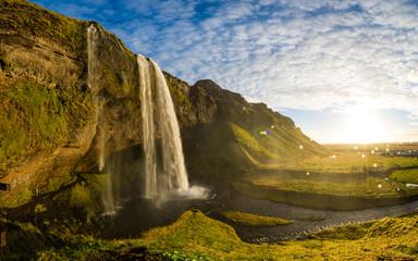 FototapetaSeljalandsfoss Wasserfall an der Ringstrasse, Island