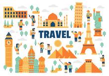 Travel Flat Illustration