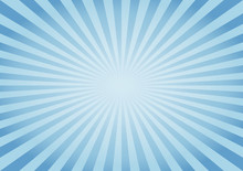 Abstract Blue Rays Background....