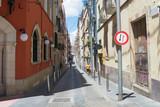 Fototapeta Uliczki - old narrow street in tarragona