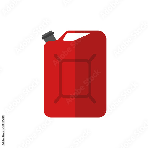 Photo Fuel canister. Vector.