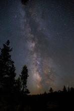 Milky Way From The Grand Tetons