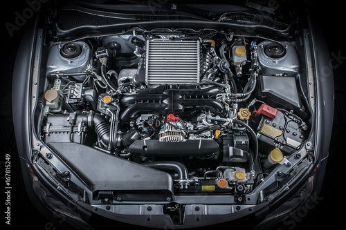 Obraz na plátně Engine Bay