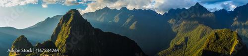 Fotobehang Zuid-Amerika land The famous Machu Picchu in Peru