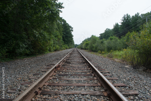 Poster Voies ferrées Train Tracks