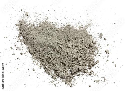 Photo  cement powder
