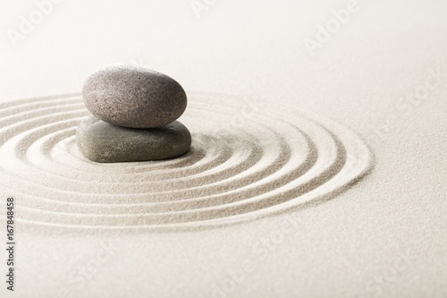 Acrylic Prints Stones in Sand Zen.