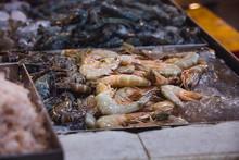 One Plate Full Of Shrimps