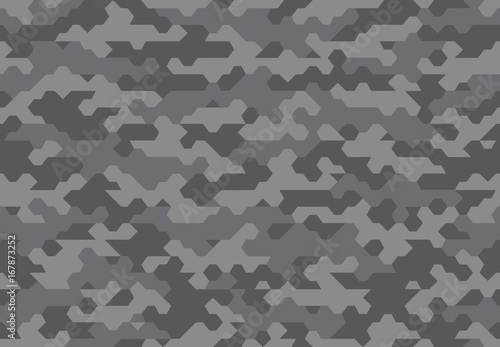 photograph about Camo Printable titled seamless printable futuristic camouflage habit - Purchase this