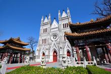 Catholic Church Of The Saviour In Beijing,China.