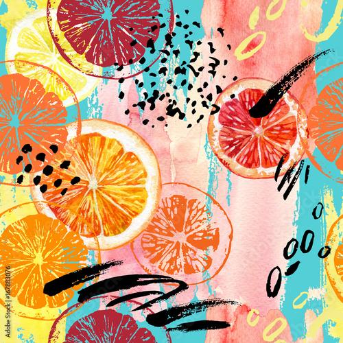 owocowy-wzor-z-pomaranczy-cytryn-i-grejpfruta-akwarela