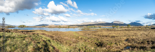 The Amazing Landscape Of Rannoch Moor Next To Glencoe