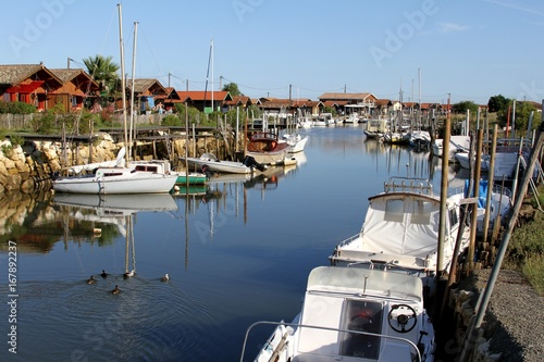 City on the water port ostréicole sur le bassin d'Arcachon,Gironde