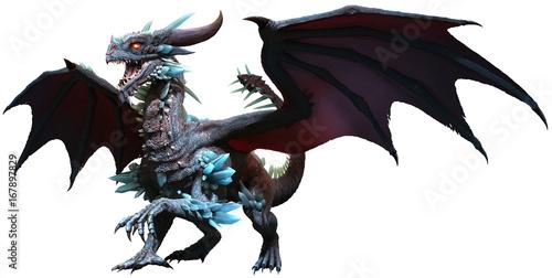 Fotografie, Tablou  Blue dragon