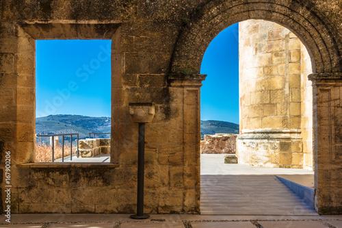 Vistas del castillo de Alcalá la Real (Jaén)