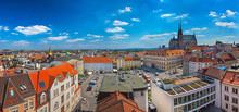Panoramic View On Brno, Czech Republic